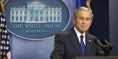 Viel Lachen, keine Tränen - Bush nimmt Abschied