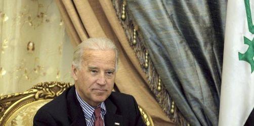 Künftiger US-Vizepräsident sondiert Lage im Irak