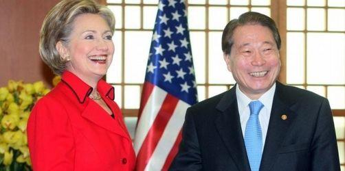 Clinton: Nordkorea soll «Krieg der Worte» beenden