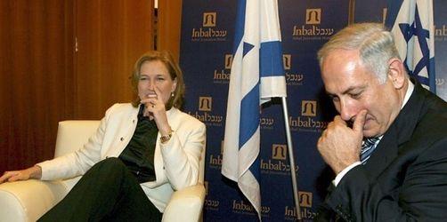 Israel: Livni und Barak wollen in die Opposition