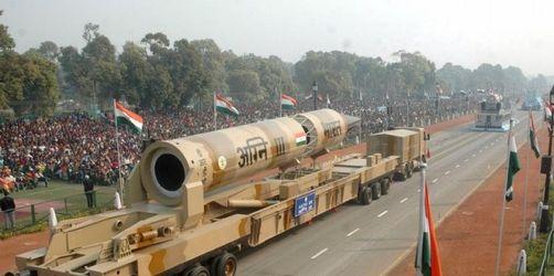 Indien testet atomwaffenfähige Rakete
