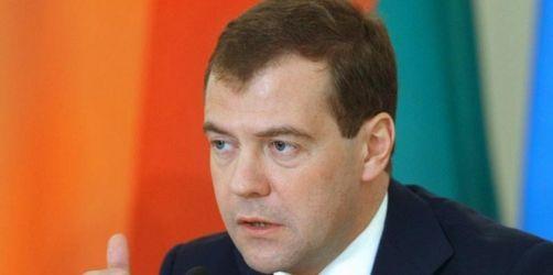 Medwedew geht auf Kremlkritiker zu
