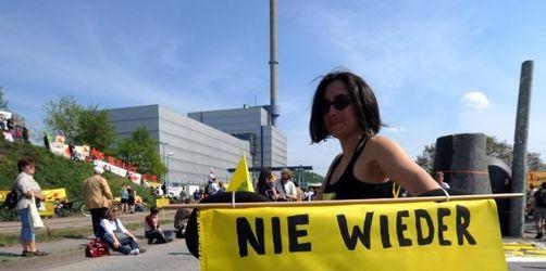 Anti-Atom-Demo am Tschernobyl-Jahrestag