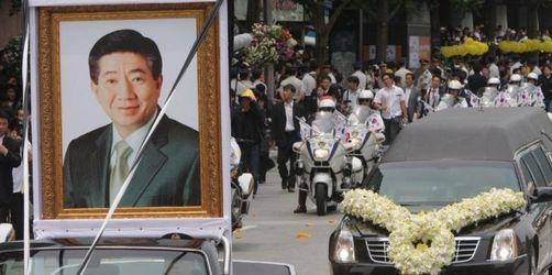 Südkoreaner trauern um Ex-Präsident Roh