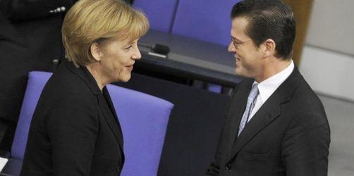 Merkel setzt im Wahlkampf auf Guttenberg und die FDP