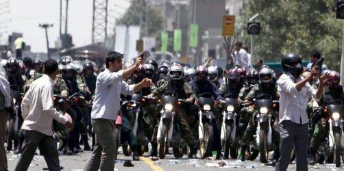 Aufruf zu Iran-Aktionstag nach Unruhen in Teheran