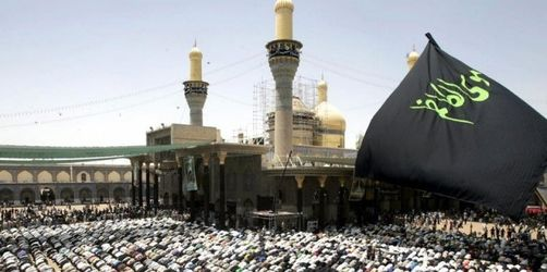 Hunderttausende bei Schiiten-Fest in Bagdad