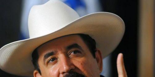 USA warnen neuen Machthaber von Honduras