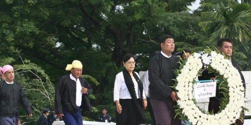Aktivisten in Birma vorübergehend festgenommen