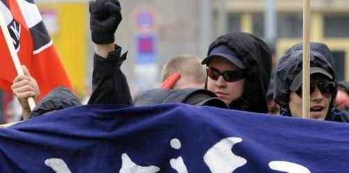 Demonstration gegen Neonazis - Zehn Festnahmen