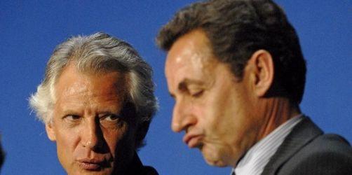 Clearstream-Prozess:Villepin attackiert Sarkozy