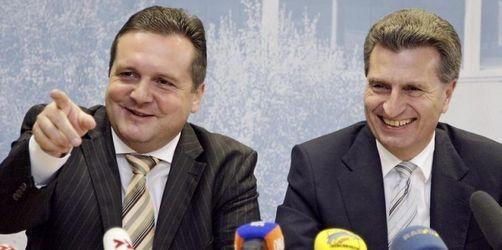 Stefan Mappus Favorit für Oettinger-Nachfolge