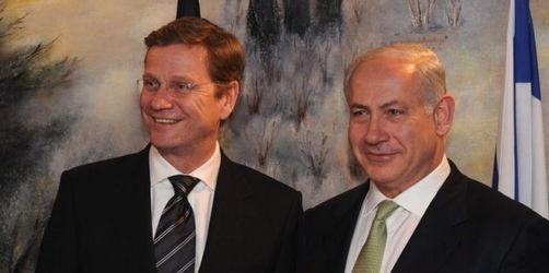 Antrittsbesuch von Westerwelle in Israel