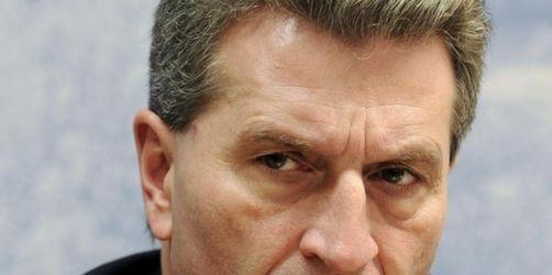 Oettinger wird EU-Energiekommissar