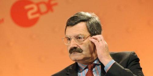Kritik an Ablösung des ZDF-Chefredakteurs nimmt zu