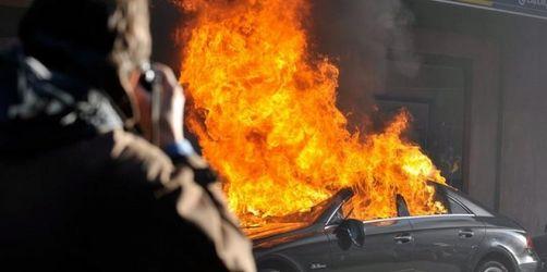 Gewalt bei WTO-Protesten in Genf
