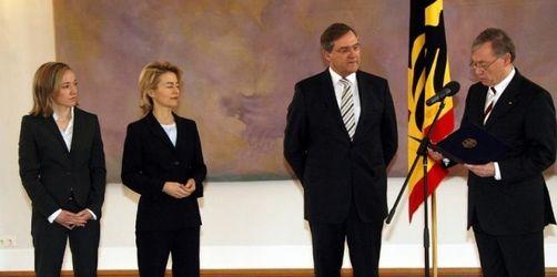 Bundespräsident Köhler entlässt Jung