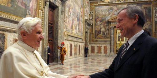 Köhler zur Privataudienz beim Papst