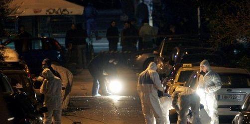 Erneut Bombenanschlag in Athen