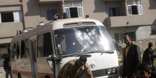 Acht Christen nach Messe in Ägypten erschossen