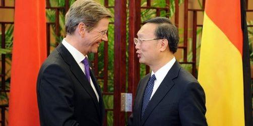 Westerwelle: Verhältnis zu China «auf gutem Weg»