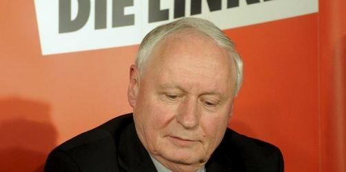 Lafontaine gibt Linken-Vorsitz und Mandat ab