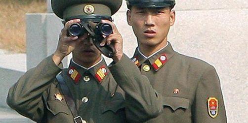 Nordkorea wirft Südkorea «Kriegserklärung» vor