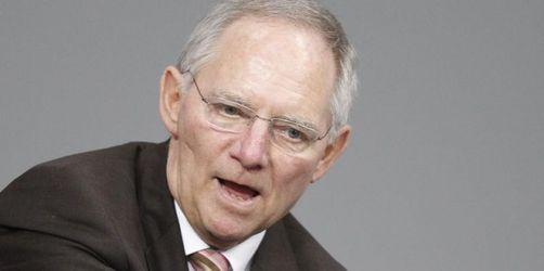 Schäuble will Banken an Kosten der Krise beteiligen