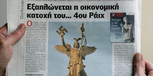Griechen empört über «Focus»-Titel