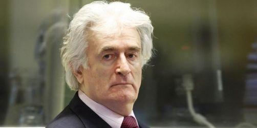 Karadzic: Muslime waren Schuld am Bosnienkrieg