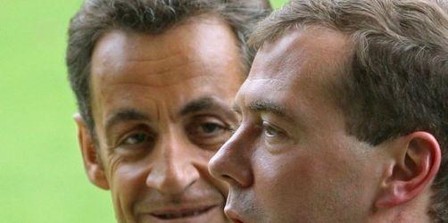 Medwedew zu Staatsbesuch in Paris