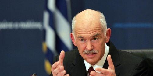 Griechenland-Krise: Merkel trifft Papandreou