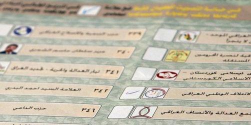 Terror überschattet Parlamentswahl im Irak