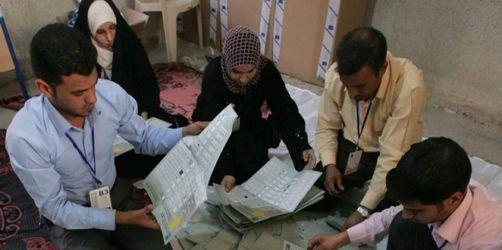 Al-Maliki bei Wahlen im Irak vorn - 62 Prozent Beteiligung