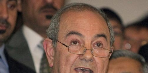 Ex-Regierungschef Allawi gewinnt Wahl im Irak