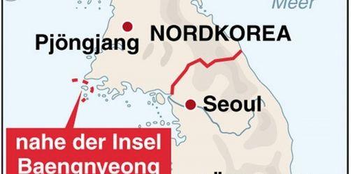 Südkoreanisches Kriegsschiff gesunken