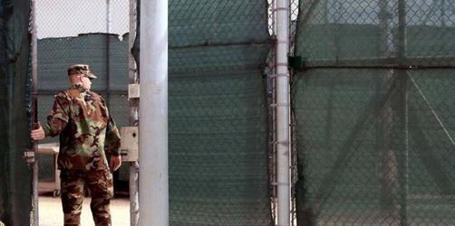 Union uneins über Aufnahme von Guantánamo-Insassen