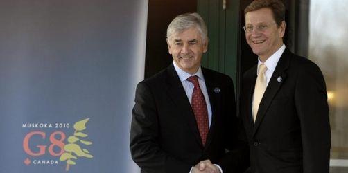 G8-Staaten erzielen nur Formelkompromiss zum Iran