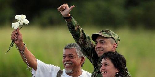 Kolumbien: FARC-Geisel nach zwölf Jahren frei