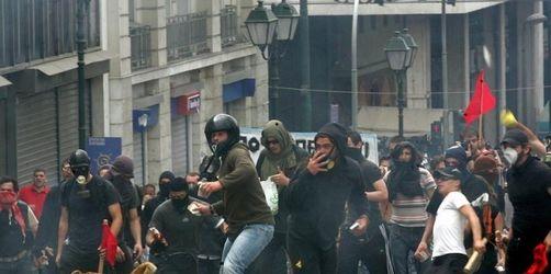 Tote in Athen - Griechenland unter Schock
