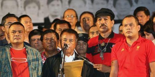 Rothemden verweigern Abzug aus Bangkok weiter