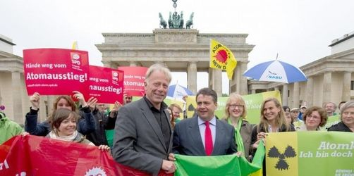 Atomprotest am Brandenburger Tor