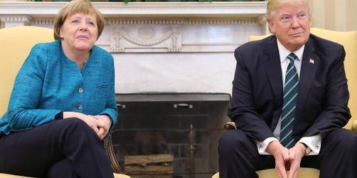 Merkel bei Trump - Handelsstreit und Iran im Mittelpunkt