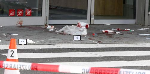 Gewalttat mit Beil: Zwei Menschen schwer verletzt