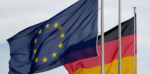 Große Mehrheit der Deutschen sieht die EU positiv