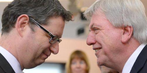 Bouffier gegen Schäfer-Gümbel - TV-Duell vor der Hessenwahl