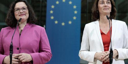 Katarina Barley wird SPD-Spitzenkandidatin für Europa-Wahl