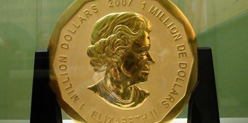 100-Kilo-Goldmünze geklaut: Anklage nach spektakulärem Coup