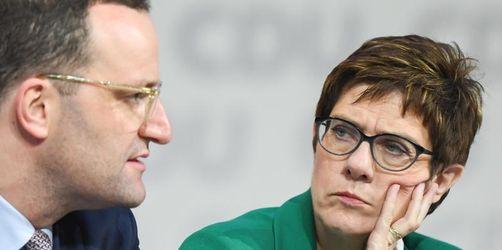 Spahn: Keine Absprache bei Wahl Kramp-Karrenbauers