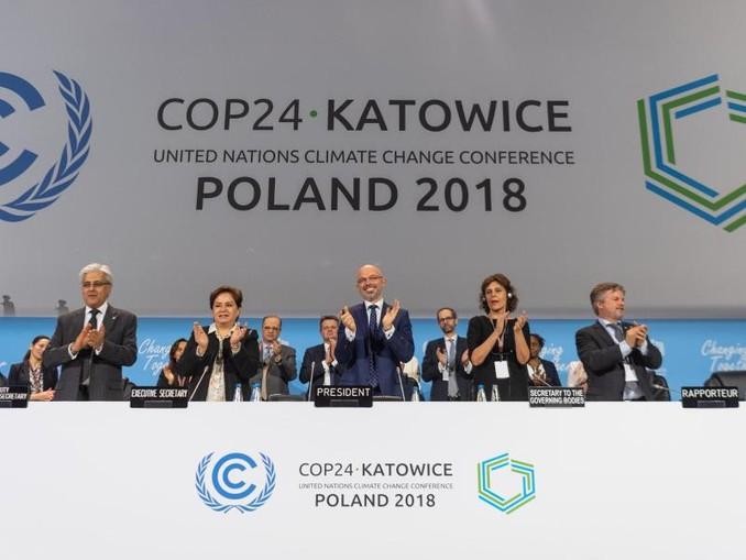 Konferenzpräsident Michal Kurtyka (M) über die neuen Klimaschutz-Regeln: «1000 kleine Schritte nach vorne.»